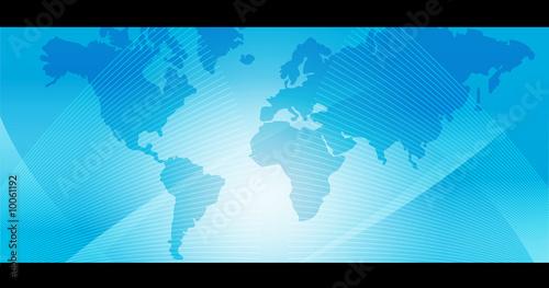 Foto op Plexiglas Wereldkaart Mapa del Mundo