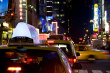 Times Square Cup Taxi