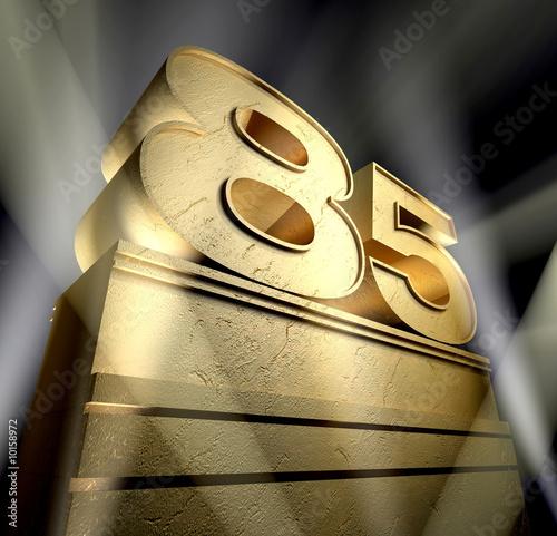 Fotografia  85 bithday monument