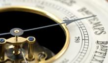 Vintage Barometer From Close (...