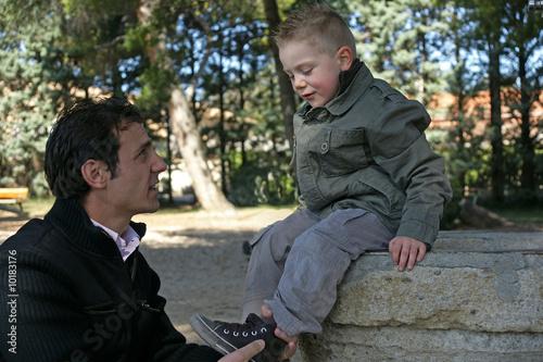Photo  père & fils