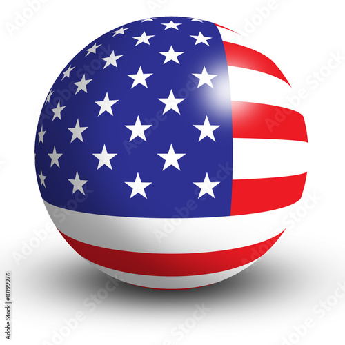 flaga-amerykanska-jako-kula
