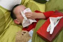 Ill Child With Catarrh