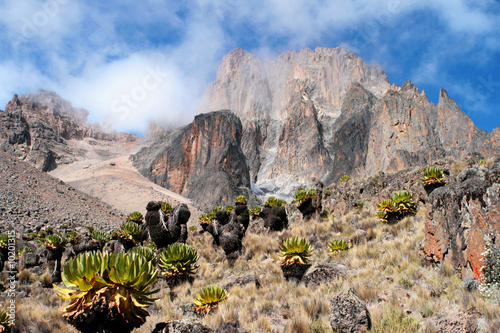 Fotografie, Obraz  Mount Kenya, Africa