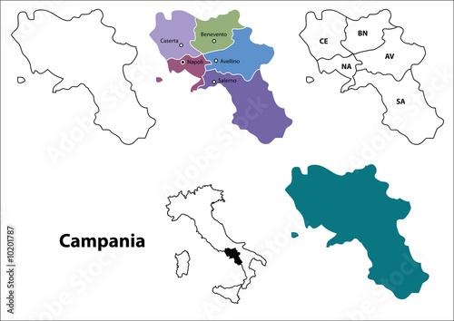 Campania Wallpaper Mural
