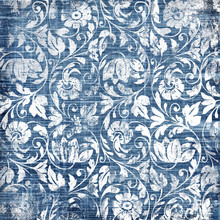 Decorative Blue-white Patterns...