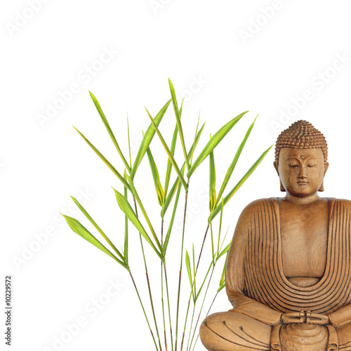 Doppelrollo mit Motiv - Buddha Peace (von marilyn barbone)