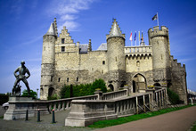 """Steen"" (stone) Castle Of Antwerp, Belgium"