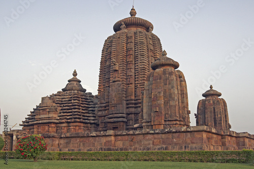 Tablou Canvas Brahmesvara Hindu Temple in Orissa, India
