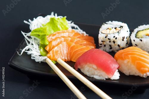 Foto op Canvas Sushi bar sushi