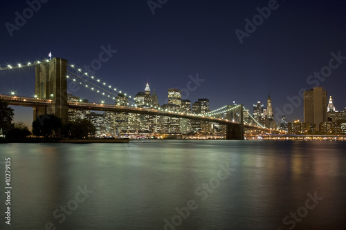 Fényképezés  Brooklyn Bridge New York City New York USA