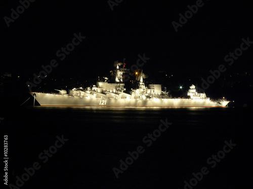 Photo  Battle ship