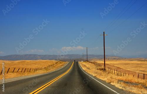 In de dag Route 66 aventure au bout de la route