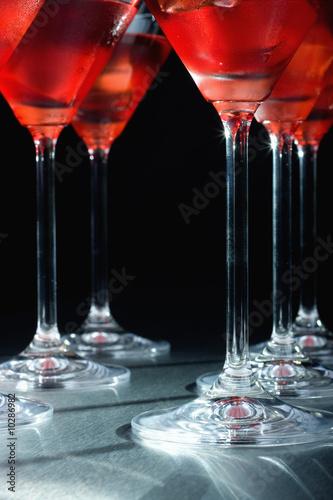 Платно  Close-up of martini glasses