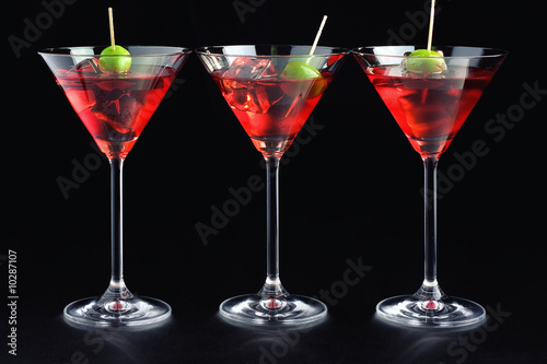 Campari glasses плакат