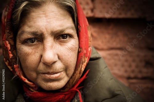 homeless woman #10290965