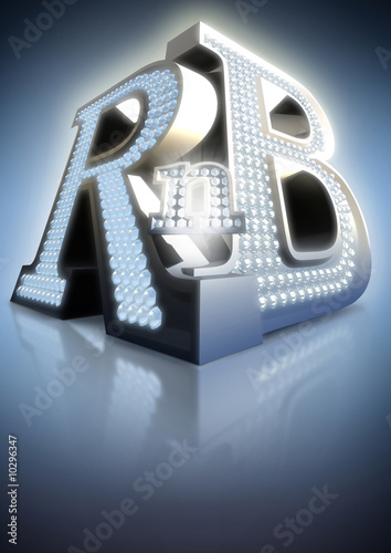 big letters rnb #10296347