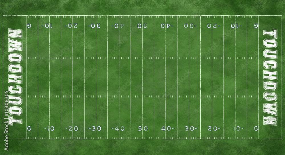 Boisko piłkarskie lub boisko do piłki nożnej <span>plik: #10306305 | autor: Brocreative</span>