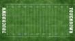 Leinwandbild Motiv Football Field or Soccer Field