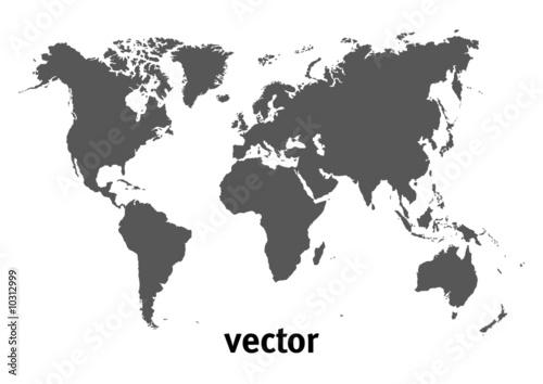Weltkarte - Vector