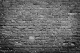 .Old wall, black & white