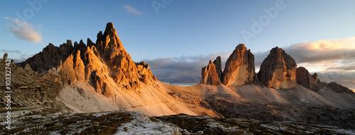 Fotografie, Tablou  Montagna Dolomiti