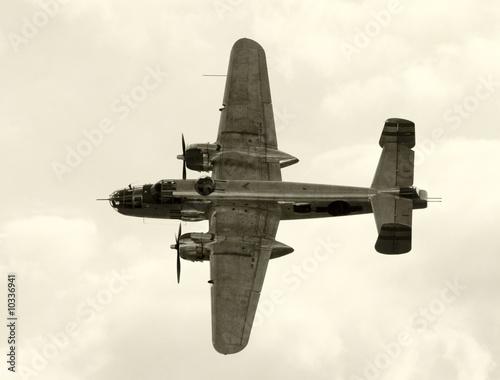 World War II era American bomber Fototapeta
