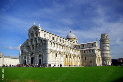 Fototapeta Pisa. Campo dei Miracoli: il Duomo e la Torre Pendente 3
