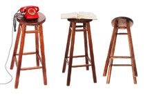 The Stool. The Bottom View