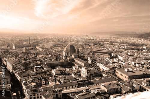 Photo  Florence From the Duomo