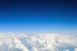 Leinwandbild Motiv Aerial sky and clouds background