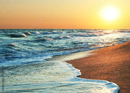 Sea sunset - 10398706
