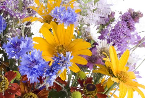 Fototapety, obrazy: Bouquet on white background