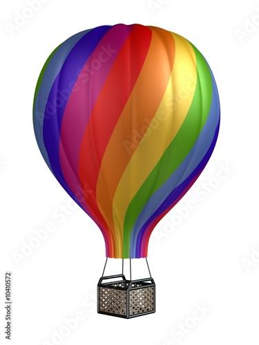 In de dag Ballon colorful hot air balloon
