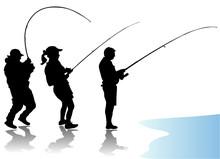 Fisherman Vector
