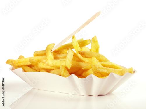 Fotografie, Obraz  Pommes Frites