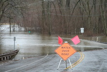 Flooding Over Road