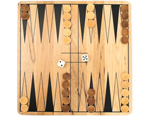 Photo Of Backgammon Game Against The White Background