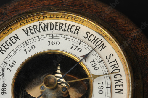 Barometer Canvas Print