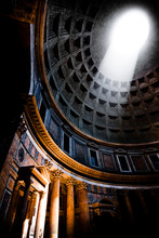 Dome Of The Pantheon Temple In...