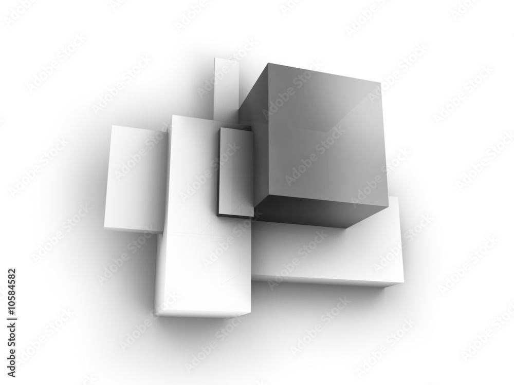 Fototapeta cube