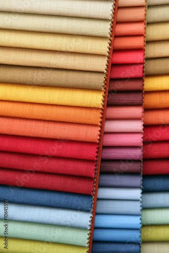 Fotobehang Stof Color samples