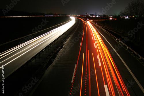 Fotografie, Obraz  Autobahn3