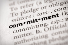 Dictionary Series - Attributes: Commitment