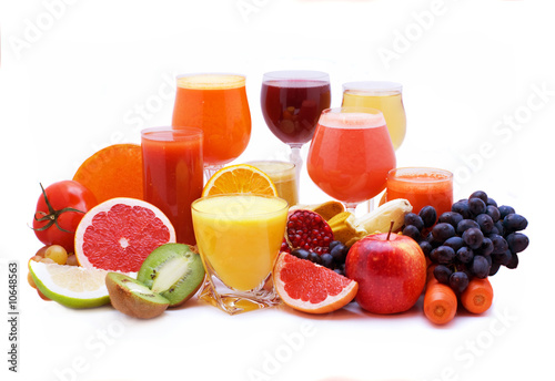 Foto op Plexiglas Sap Fruit and vegetable juice