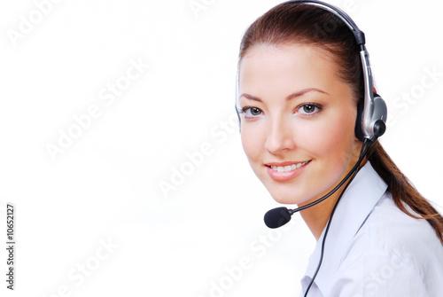 Fotografía  Atractive operator