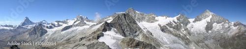 Fotografiet alpes panorama