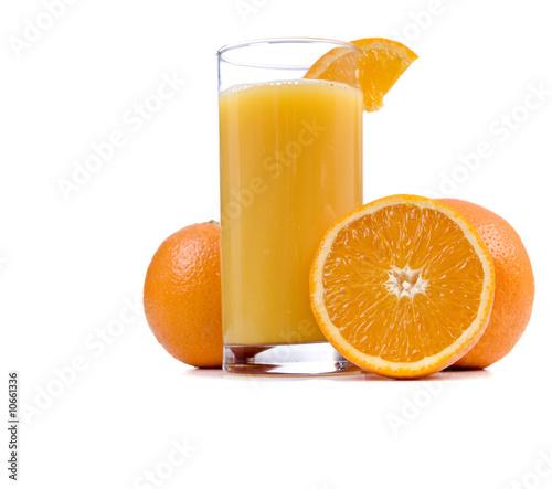 Foto op Canvas Sap Orange Juice