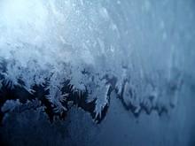 Frosty Pattern On Window