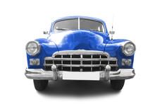 Red Retro Automobile